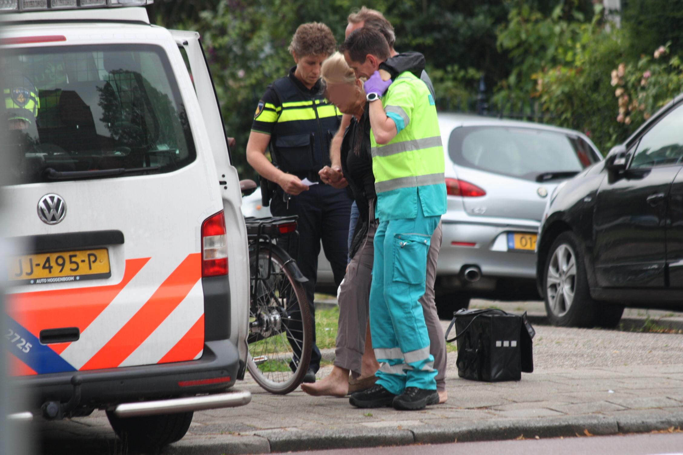 Fietsster aangereden op de Burgemeester Knappertlaan.
