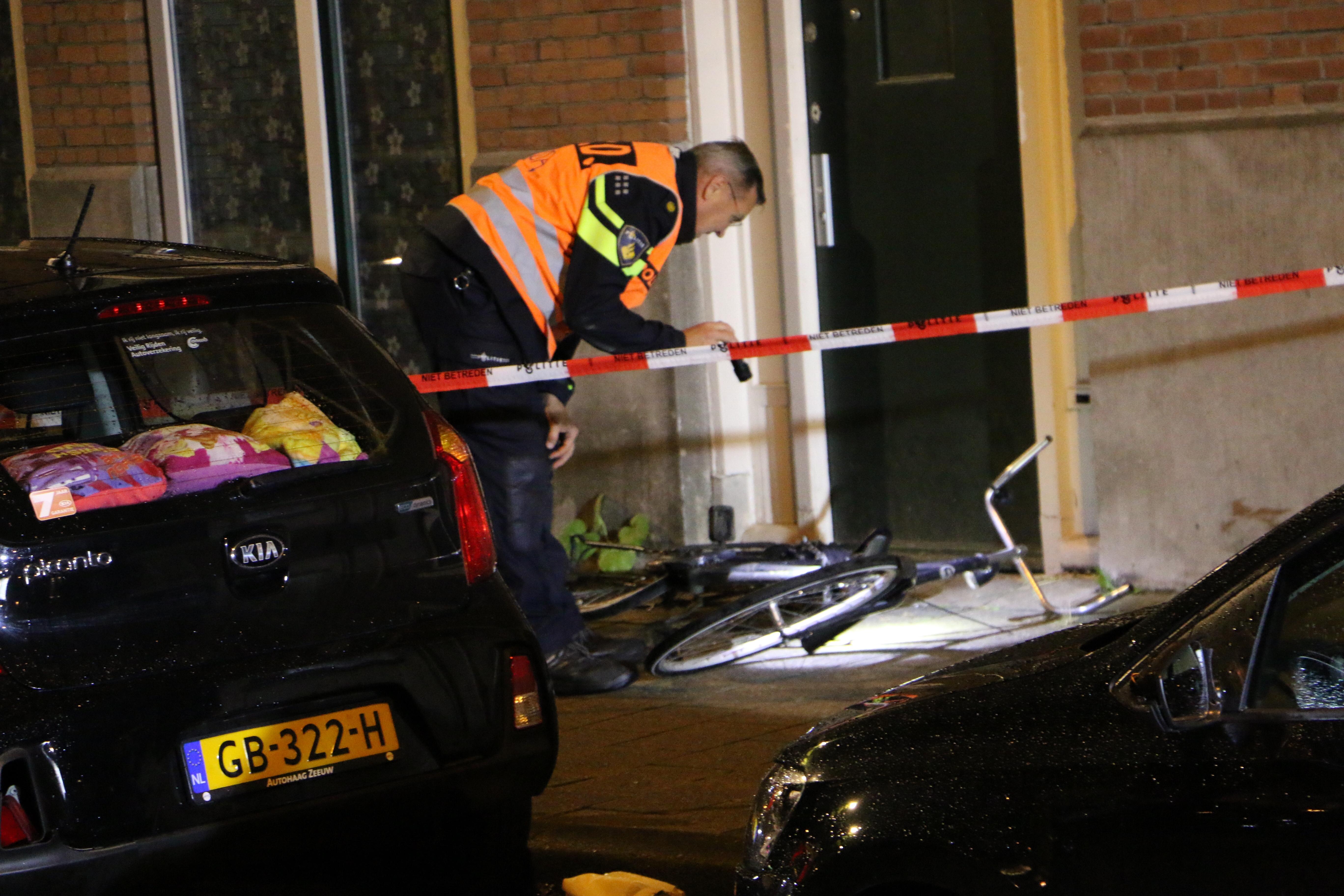 Fietser overleden na aanrijding Claes de Vrieselaan Rotterdam.