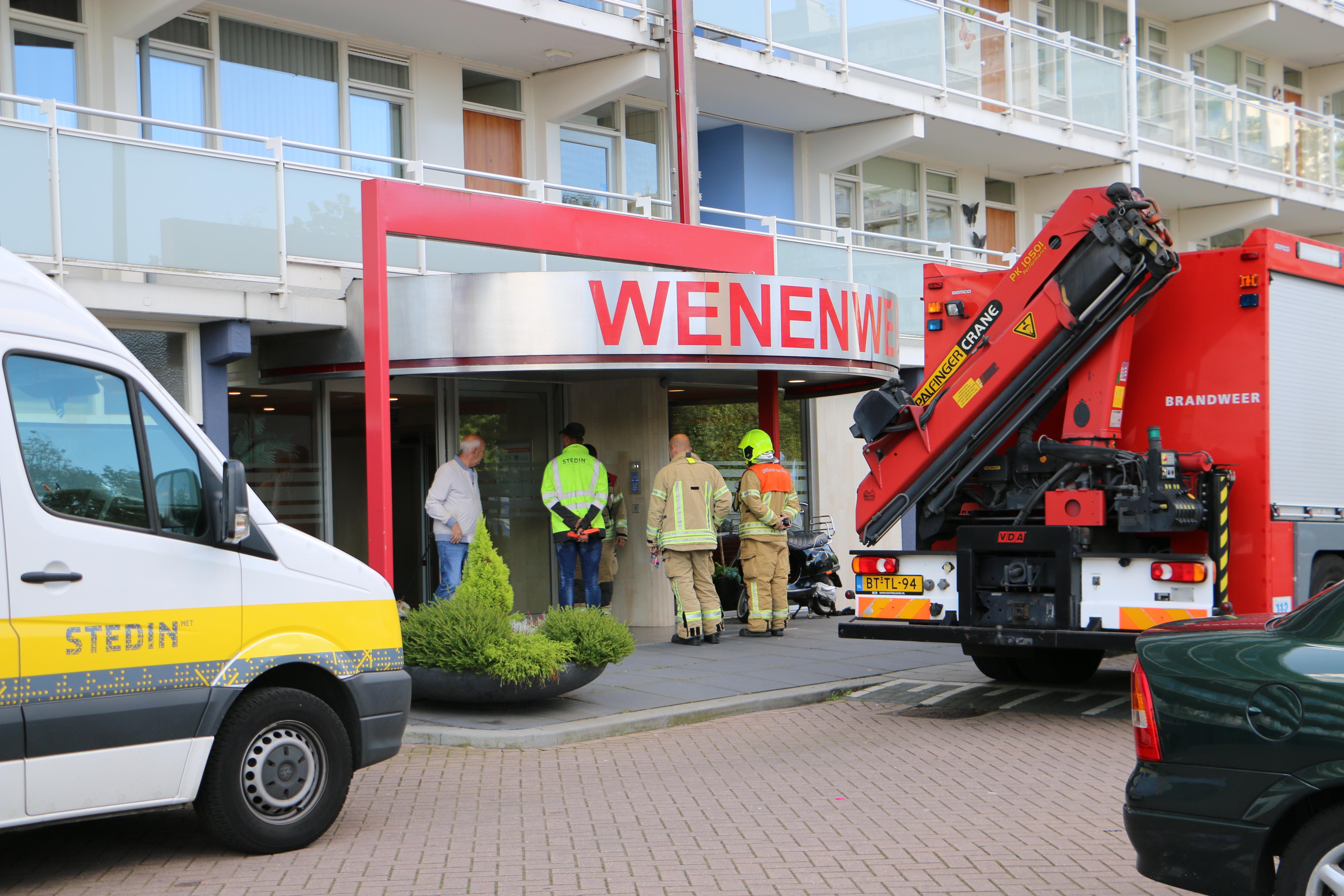 Vreemde gaslucht in flat Vlaardingen.