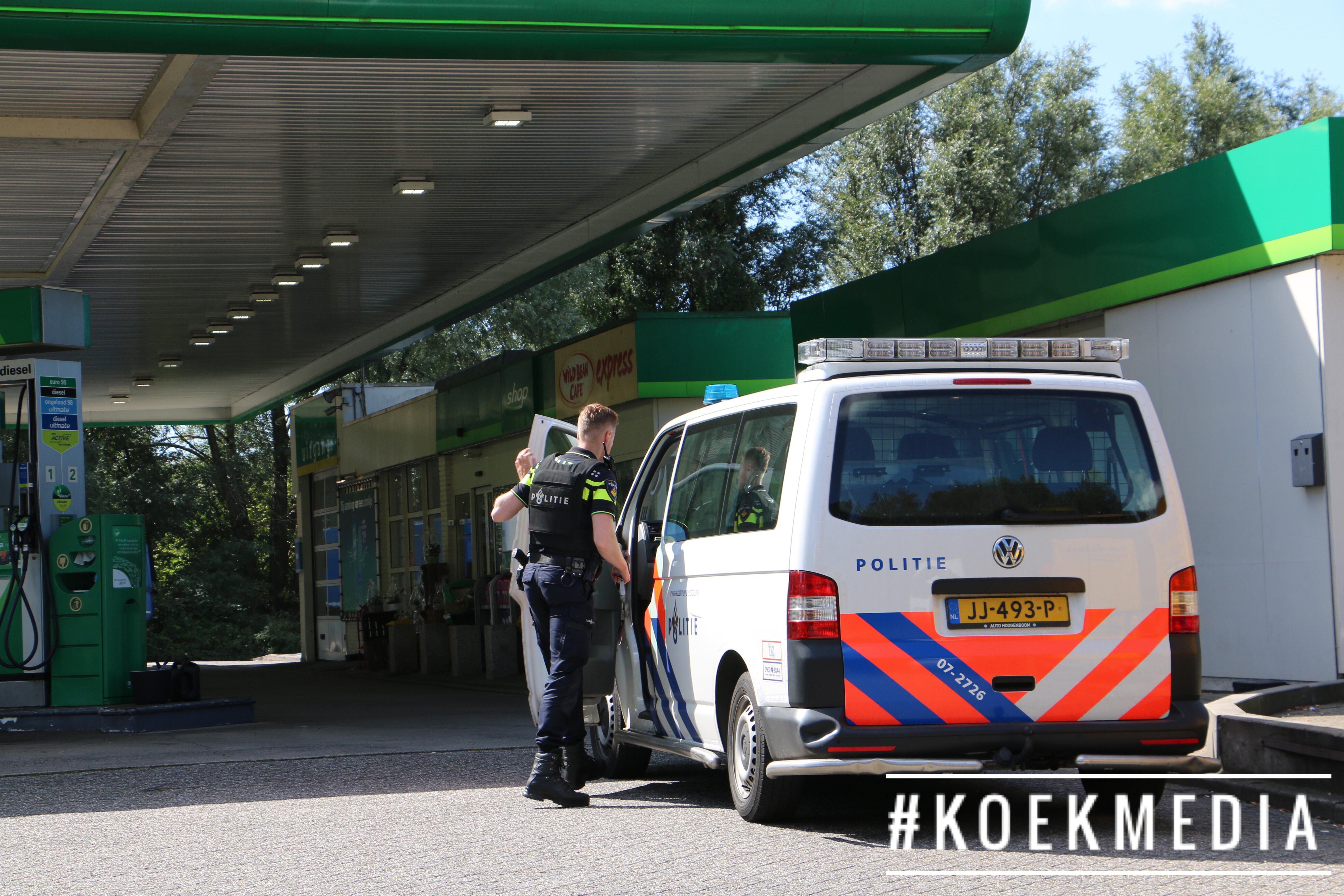Overval BP tankstation Marathonweg Vlaardingen.