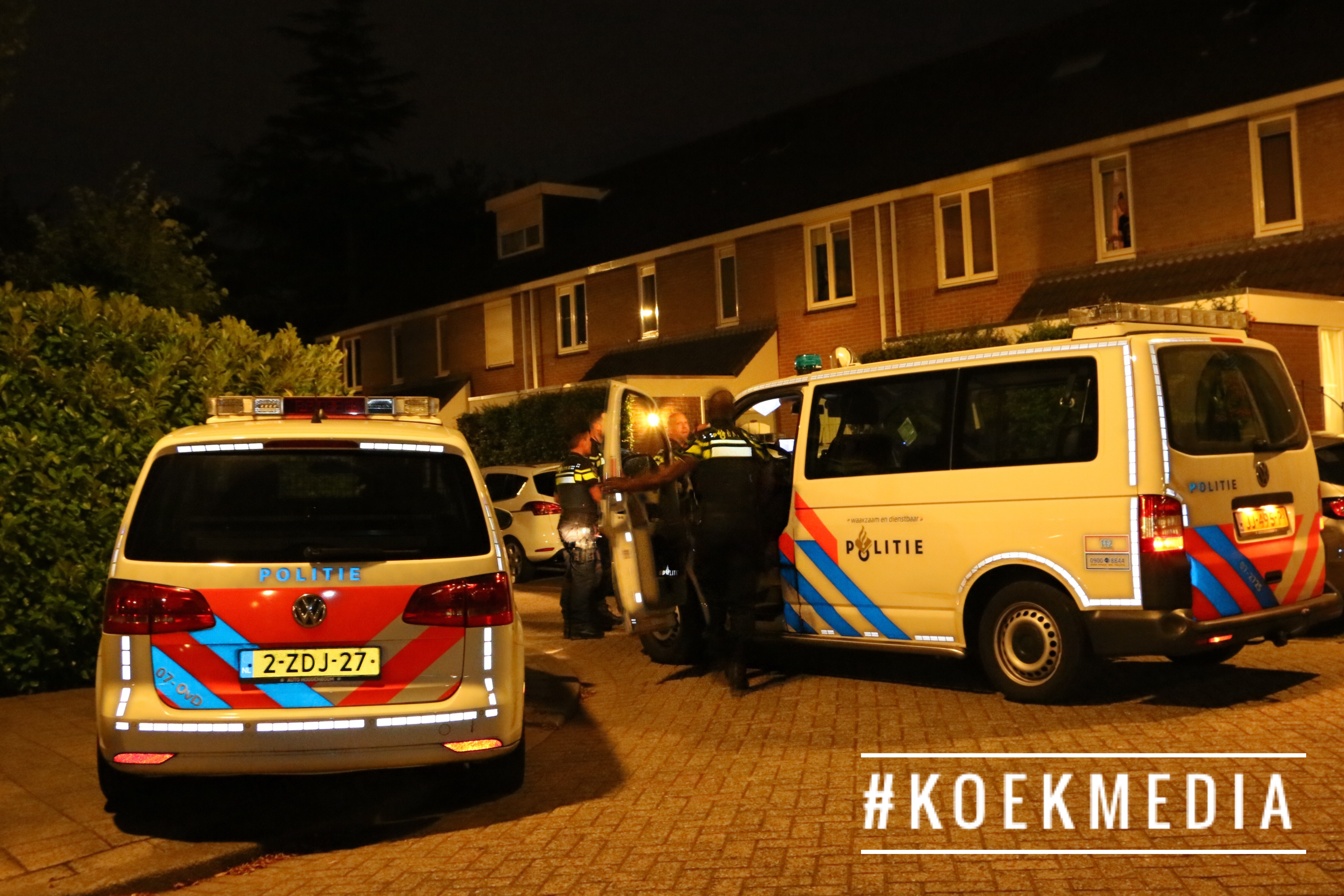 Steekpartij aan de Dille in Hoogvliet.