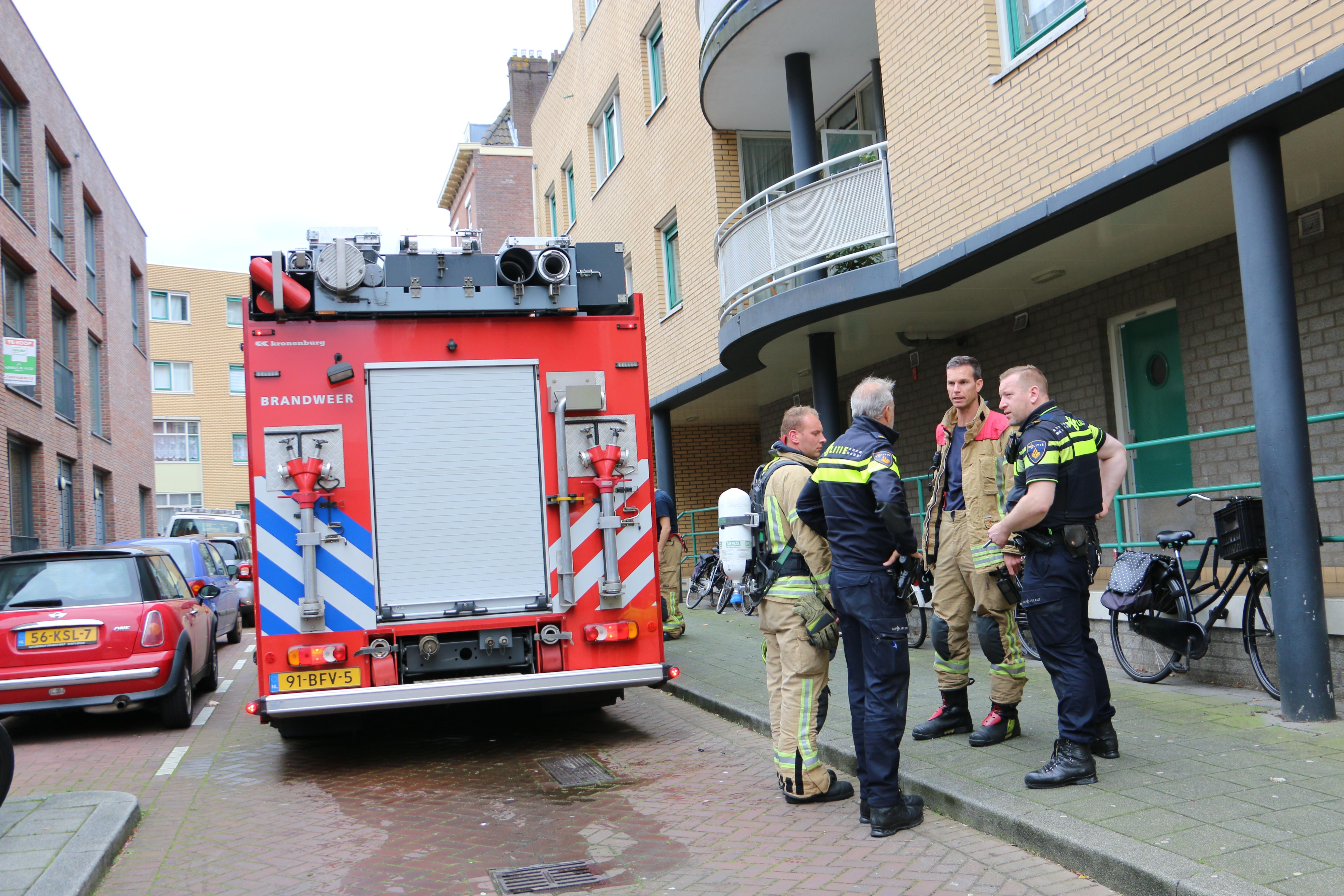 Meisje (13) aangehouden na brand in woning.