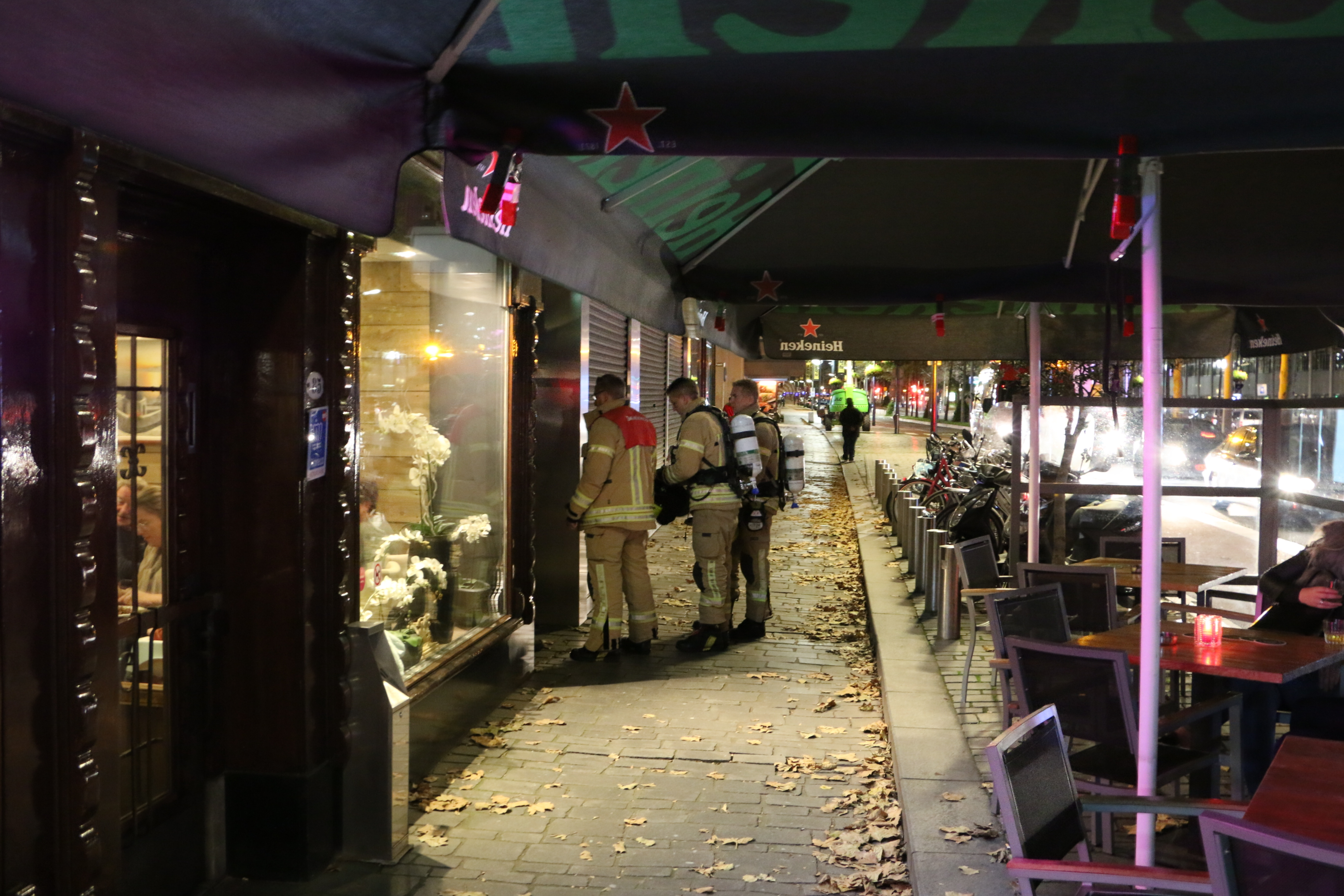 Koolmonoxide alarm in woning Broersvest Schiedam.