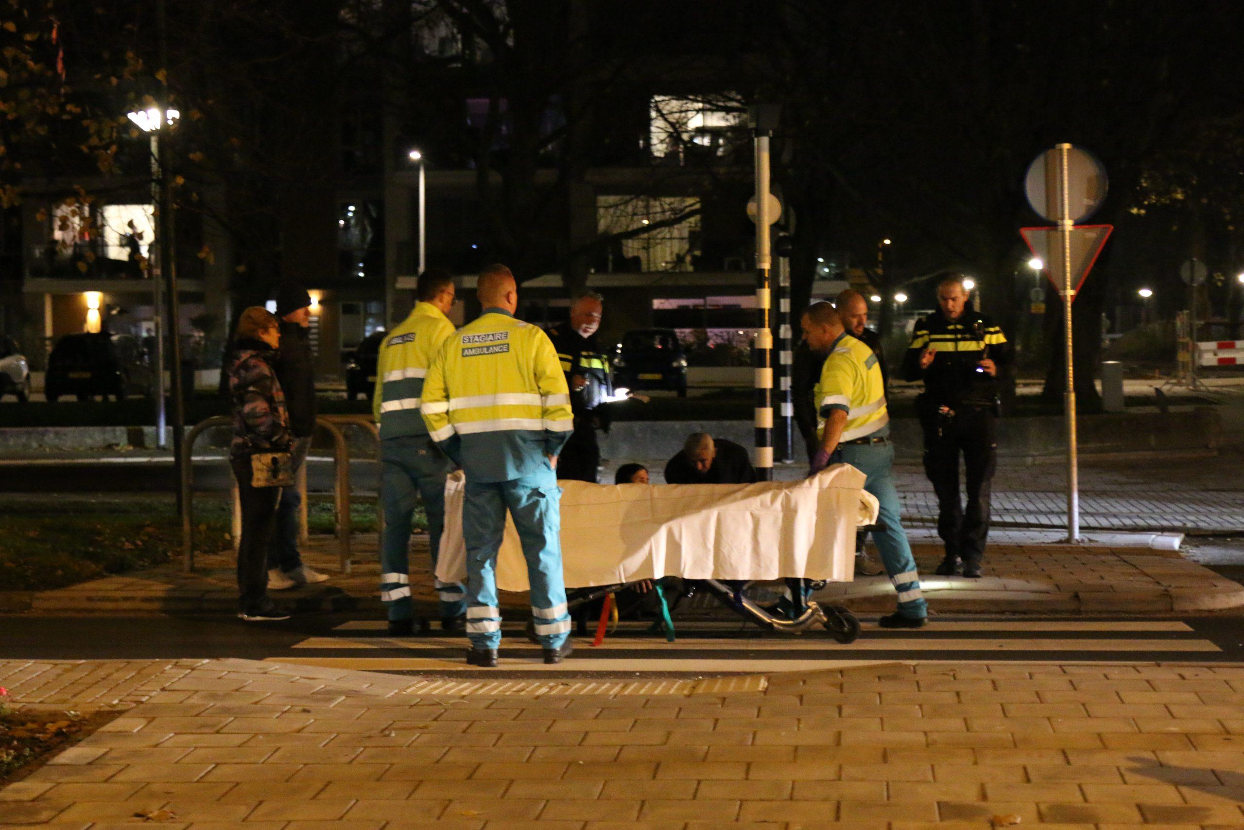 Voetgangster aangereden op zebrapad.