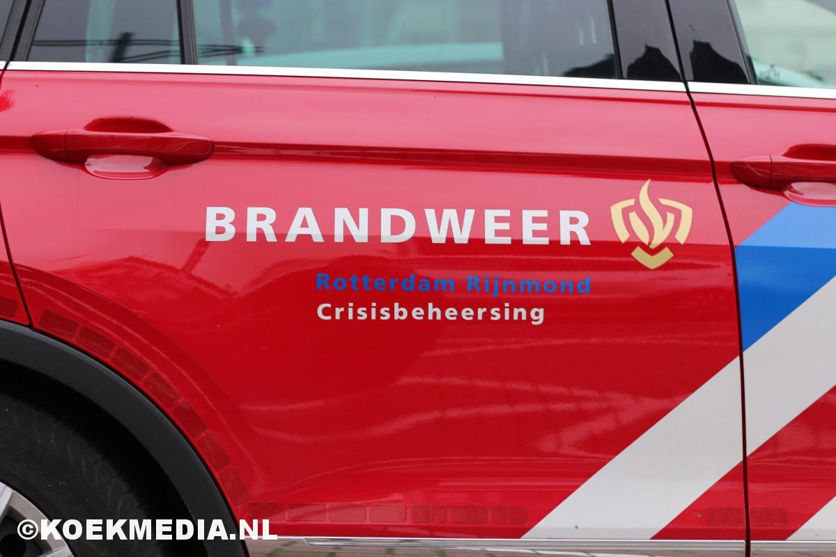 25 verstekelingen aangetroffen in koelcontainer vrachtboot Vlaardingen.