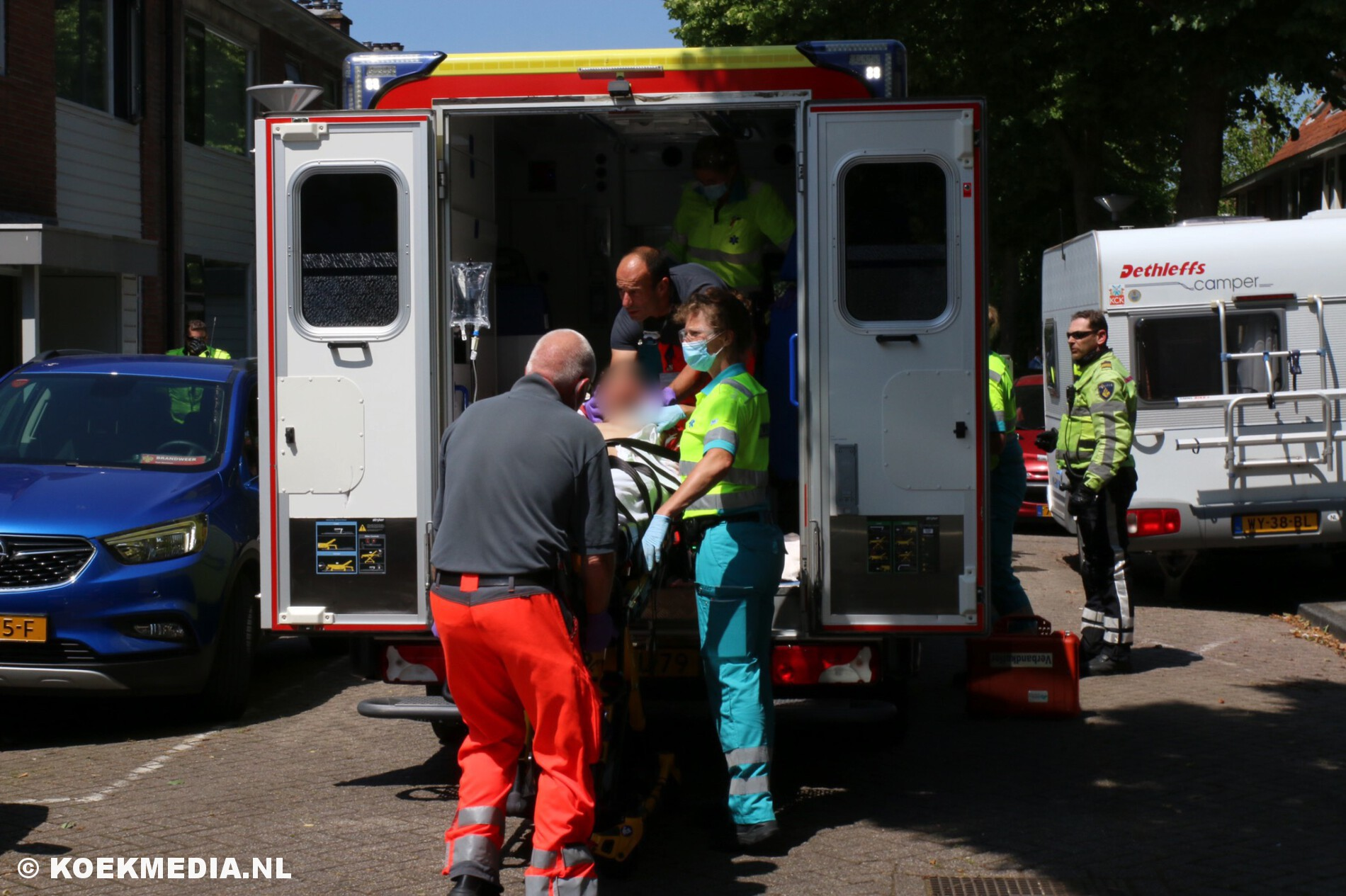 Zwaar gewonde na steekpartij in Maassluis.