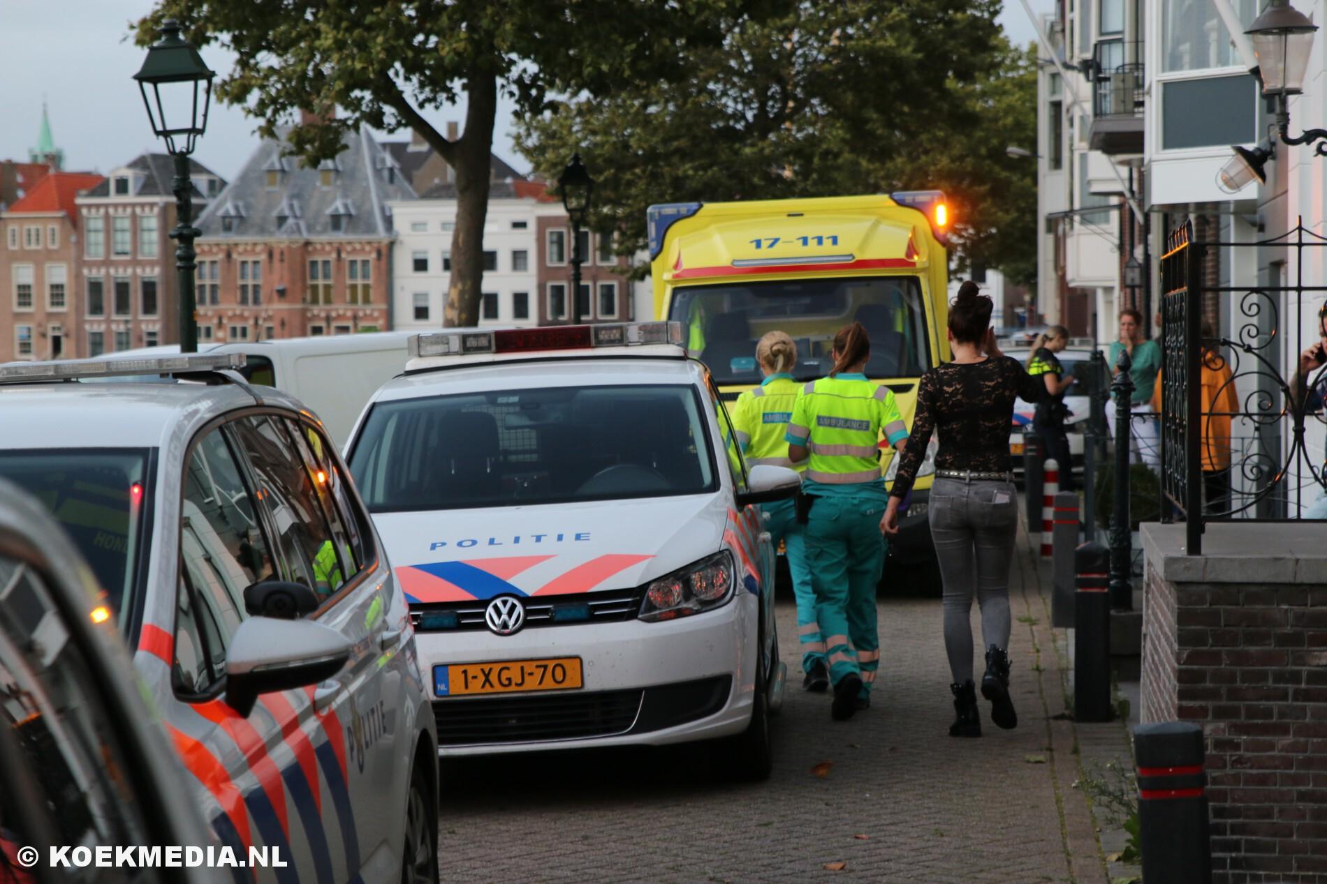 Grote vechtpartij met gewonden in een café in Maassluis.