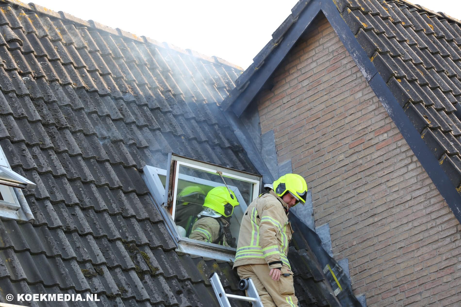 Flinke schade na dakbrand