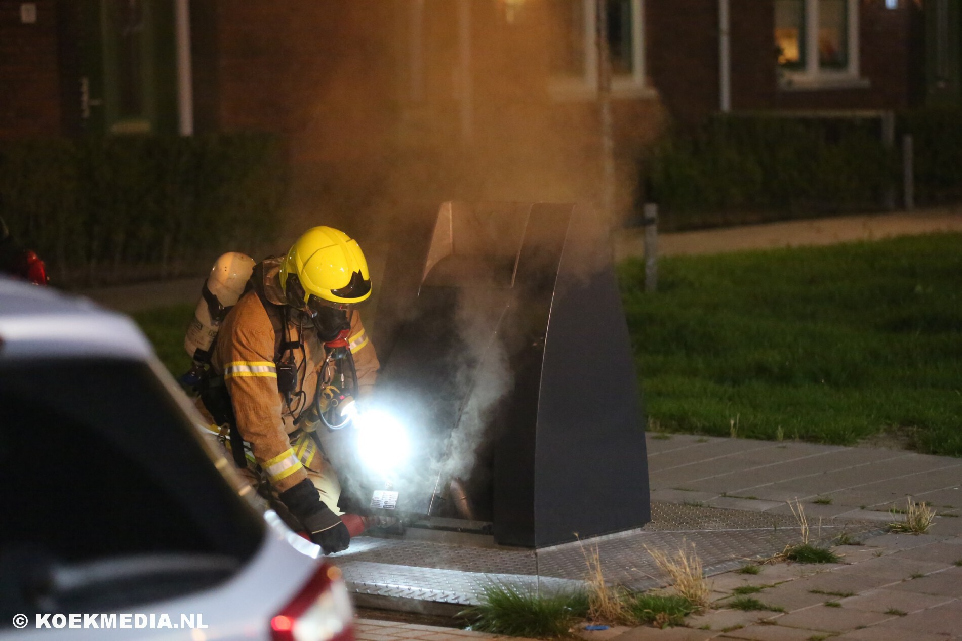 Brandweer Maassluis druk met buitenbrandjes