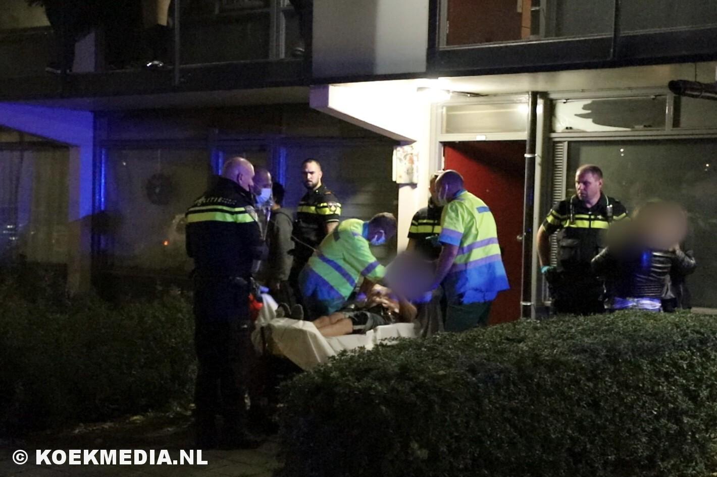 Man raakt gewond bij steekincident Seringenstraat Maassluis
