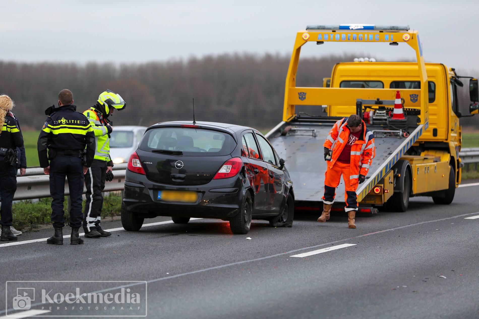File A20-Vlaardingen na eenzijdig ongeval
