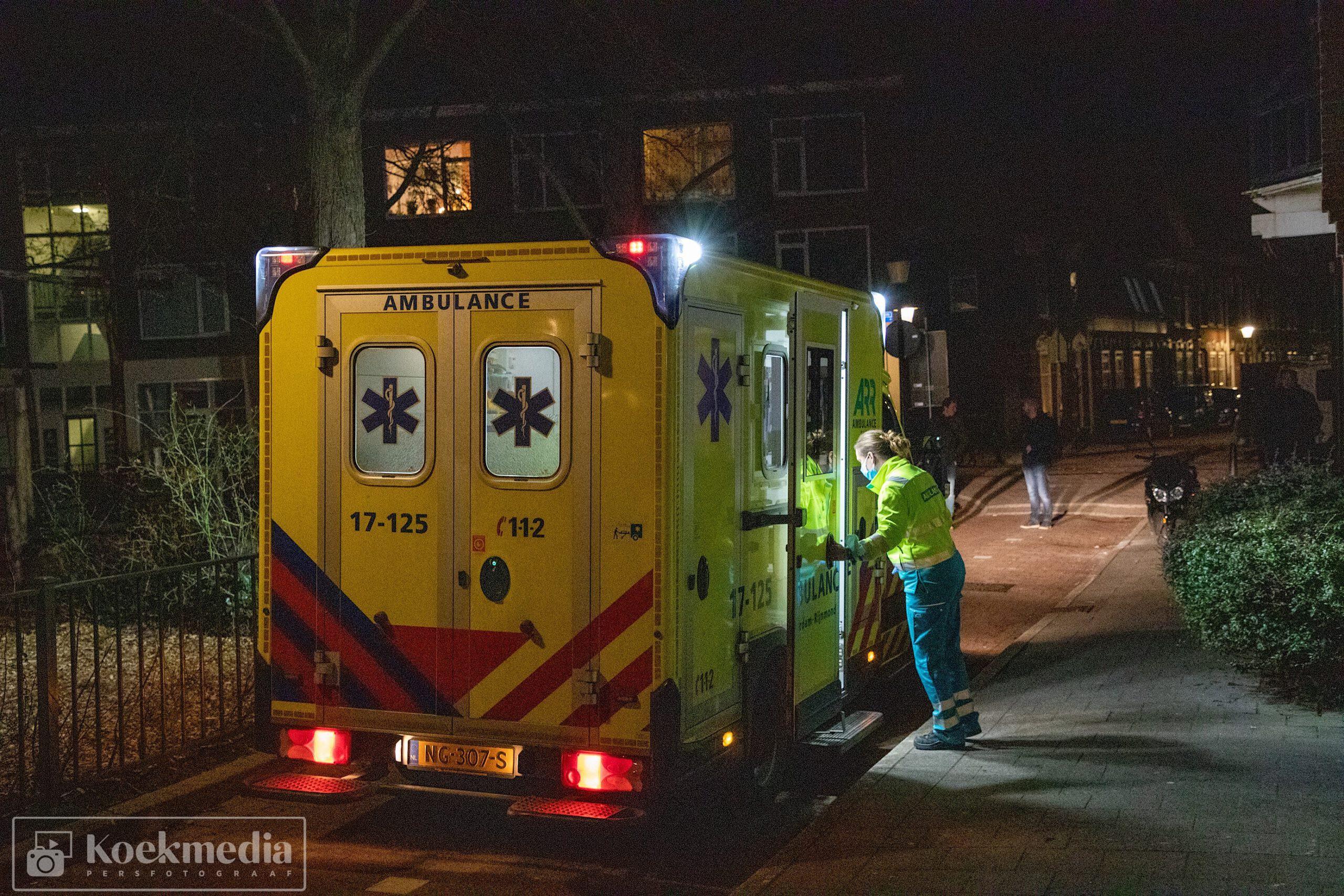 Man gewond na steekpartij in Vlaardingen