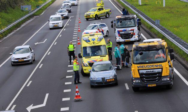 Ongeval op de A4 ter hoogte van Schipluiden