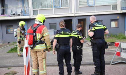 Wederom brandstichting in kelderbox Willem Marislaan Maassluis