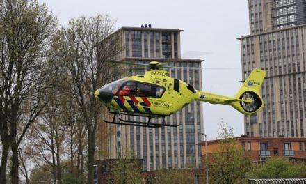 Traumahelikopter ingezet bij medische noodsituatie in een woning