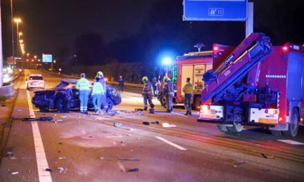 Dodelijk ongeval op de A20 bij Schiedam
