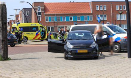 Voetganger aangereden door automobiliste