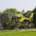 Traumahelikopter ingezet bij medische noodsituatie van een baby