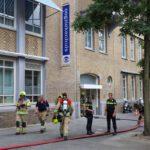 Oogziekenhuis ontruimd door brand in kelder