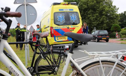 Fietsster aangereden Oranjesluisweg Naaldwijk