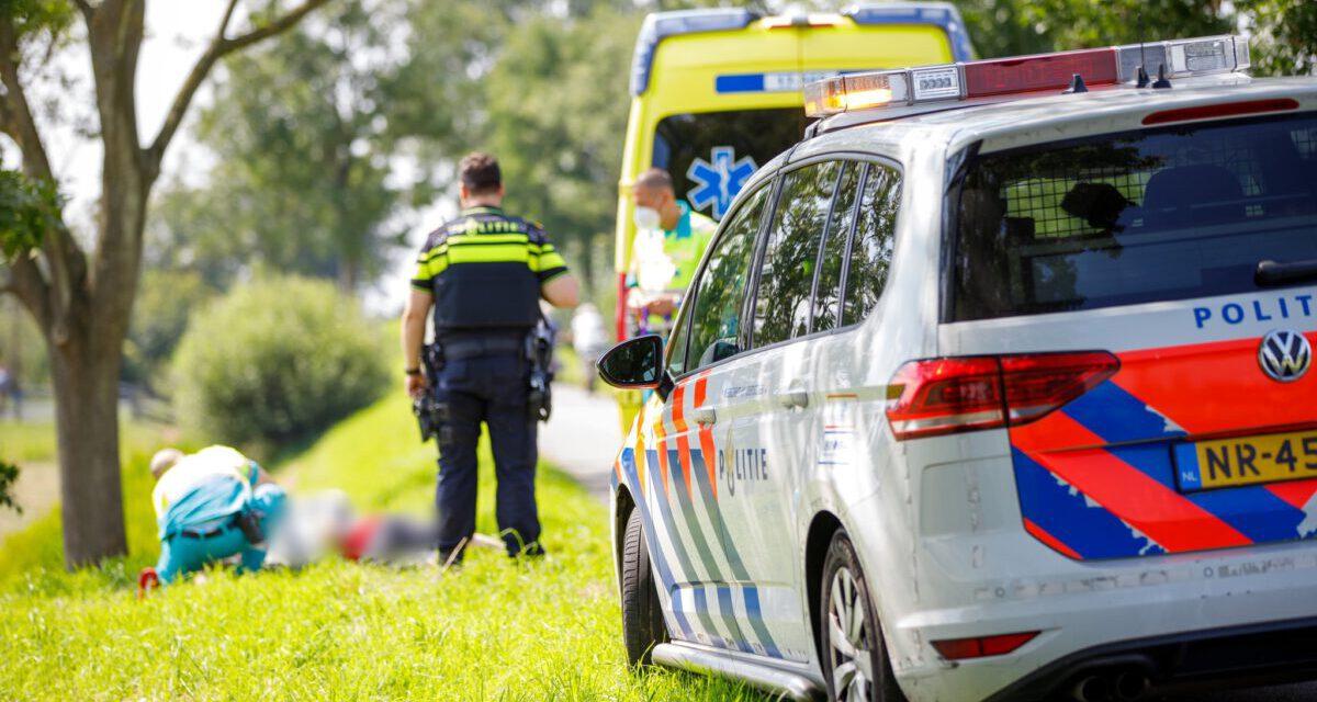 Man raakt gewond na val met snorscooter Gaagpad-Maasland