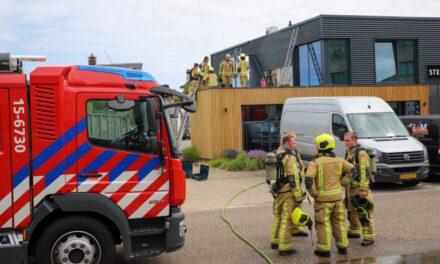 Brand na werkzaamheden aan een dak: Vlotlaan-Monster