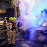 Wederom een nachtelijke autobrand in Vlaardingen
