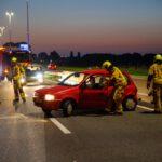 A20 dicht na ongeval Maassluis-Vlaardingen