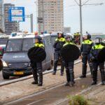 ME grijpt in bij woonprotest mars Rotterdam