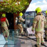 Tuinhuisje in brand Broekpolderweg-Vlaardingen