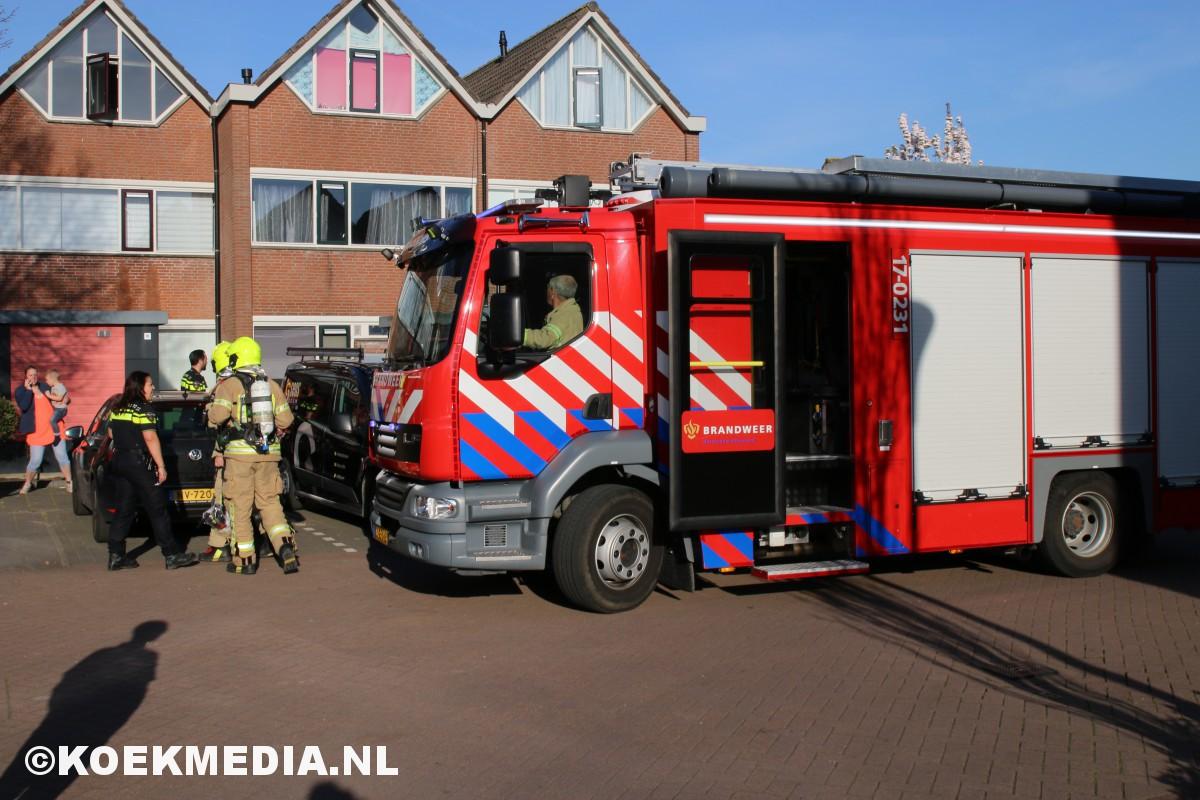 Brand op zolderverdieping Teerderij Maassluis.