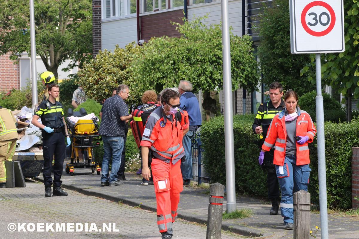Medische noodsituatie in woning Mr. Schokkingstraat in 's-Gravenzande