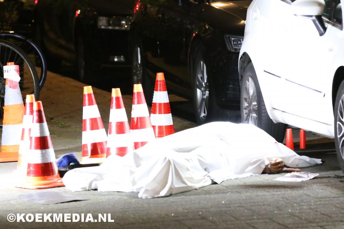 Dodelijke schietpartij op de Bergselaan in Rotterdam.